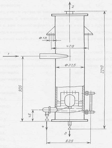 Сепаратор непрерывной продувки Дy-300 мм